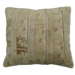 Monochromatic Turkish Rug Pillow