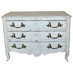 Louis XV-Style Painted Dresser