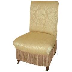 Napoleon III Style Slipper Chair