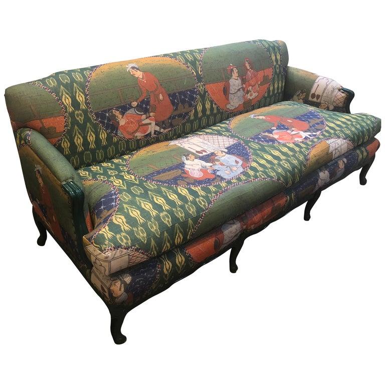 Mid-Century Modern French Sofa