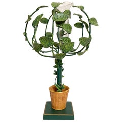 Petite Choses Tole Bud Vase Topiary
