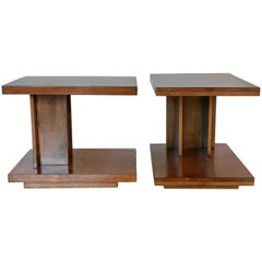 California Design Custom Architectural End Tables