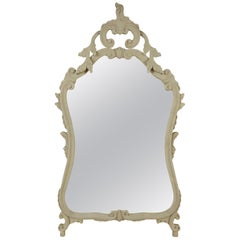 Gray French Vintage Mirror