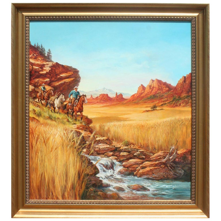 """""""Packing Out"""" Original Painting by Don Kueker For Sale"""