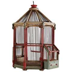 Early 20th Century French Patriotic Birdcage