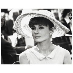 Audrey Hepburn, Vintage Photograph by Vincent Rossell, Paris, 1962