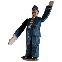 20th Century British Policeman Whirligig