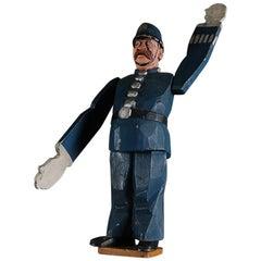 20th Century British Policeman Whirligig