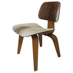 Ray & Charles Eames Slunk Skin DCW for Evans Company
