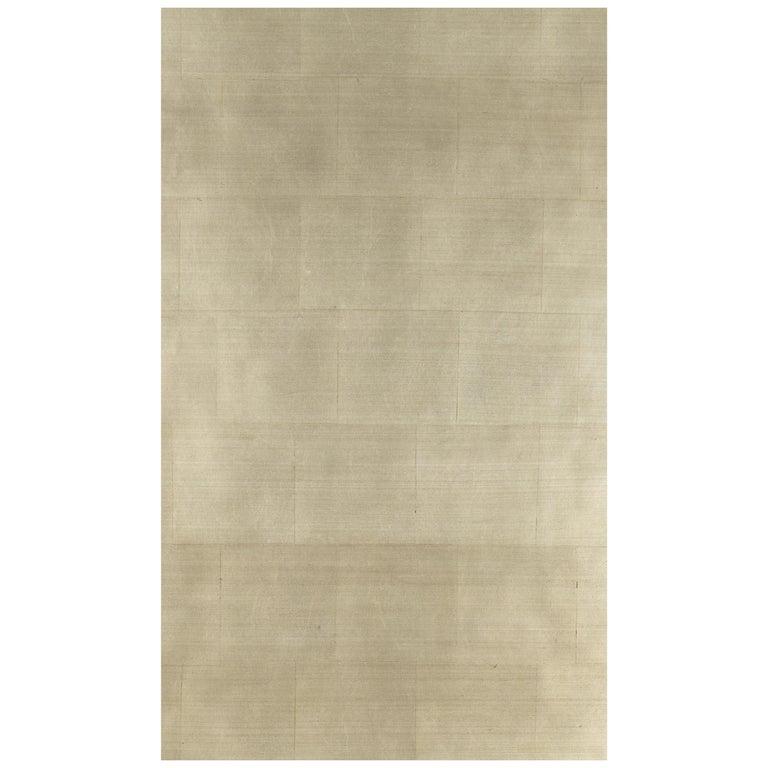 Gracie Pewter Tea Leaf Wallpaper Rolls For Sale