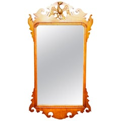 American Federal Style Wall Mirror with Eagle Motif