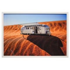 Framed Photograph of Model Airstream by Luke Anthony, 2017