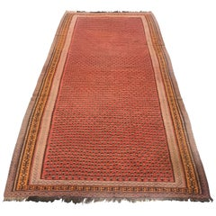 1900 Persian Malayer Wool Rug