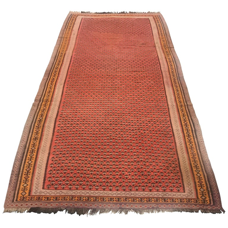 1900 Persian Malayer Wool Rug For Sale