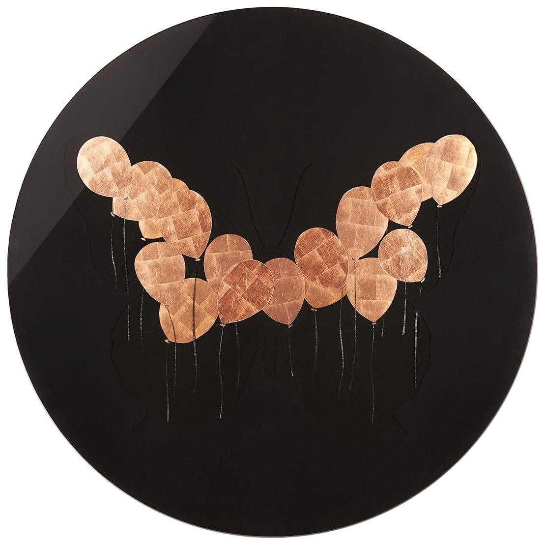 """""""Papillon Noir"""" Painting by Artist Florian Roeper"""