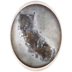 """California One"" Etched Painting by Artist Florian Roeper"