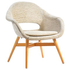 Midcentury Shell Chair by Frantisek Jirak, Czechoslovakia, 1960