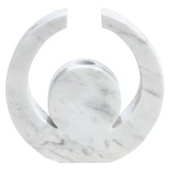 "Contemporary Handcrafted Candle Holder ""Oneiroi"" in Marble, 1stdibs New York"