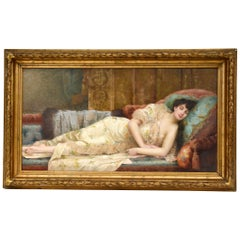 Paul Prosper Tillier, a Sleeping Beauty, 1870s