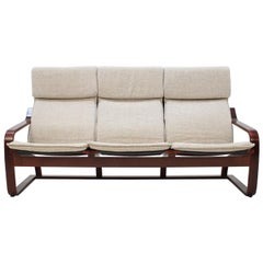 1980 Bentwood Three-Seat Sofa, Ton Czechoslovakia