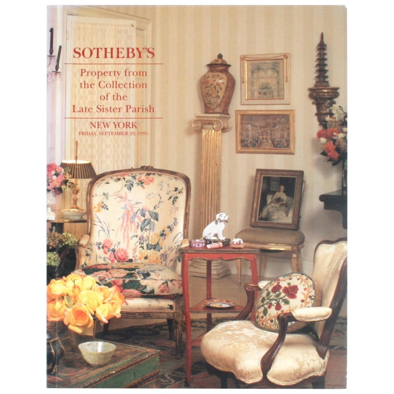 Sotheby's 1995 Catalogue, Property from the Collection of the Late Sister Parish For Sale