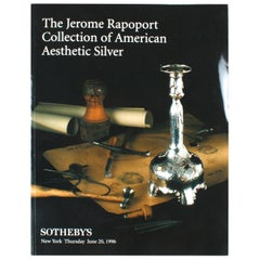 Sotheby's the Jerome Rapoport Collection of American Aesthetic Silver