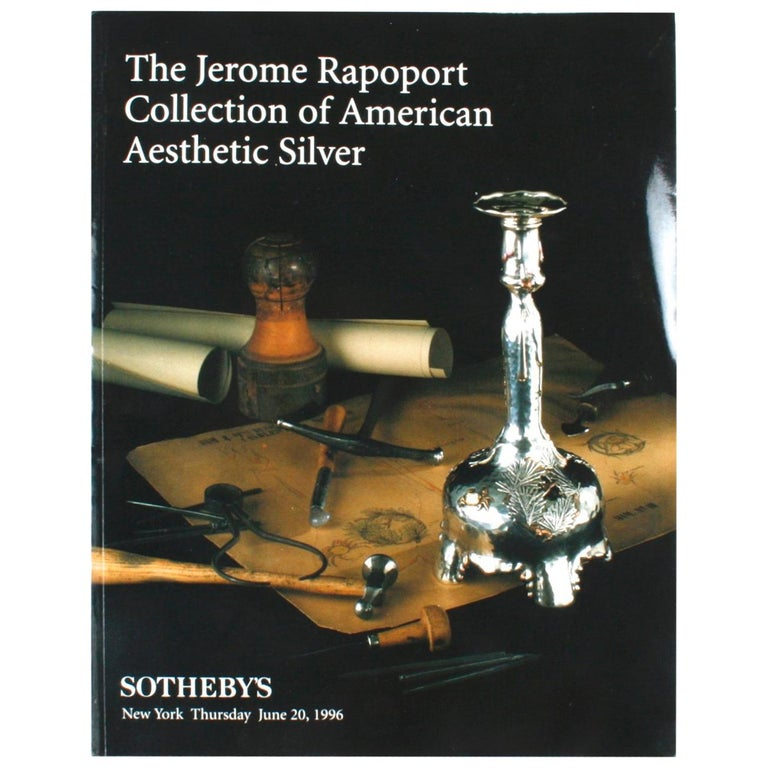Sotheby's the Jerome Rapoport Collection of American Aesthetic Silver For Sale
