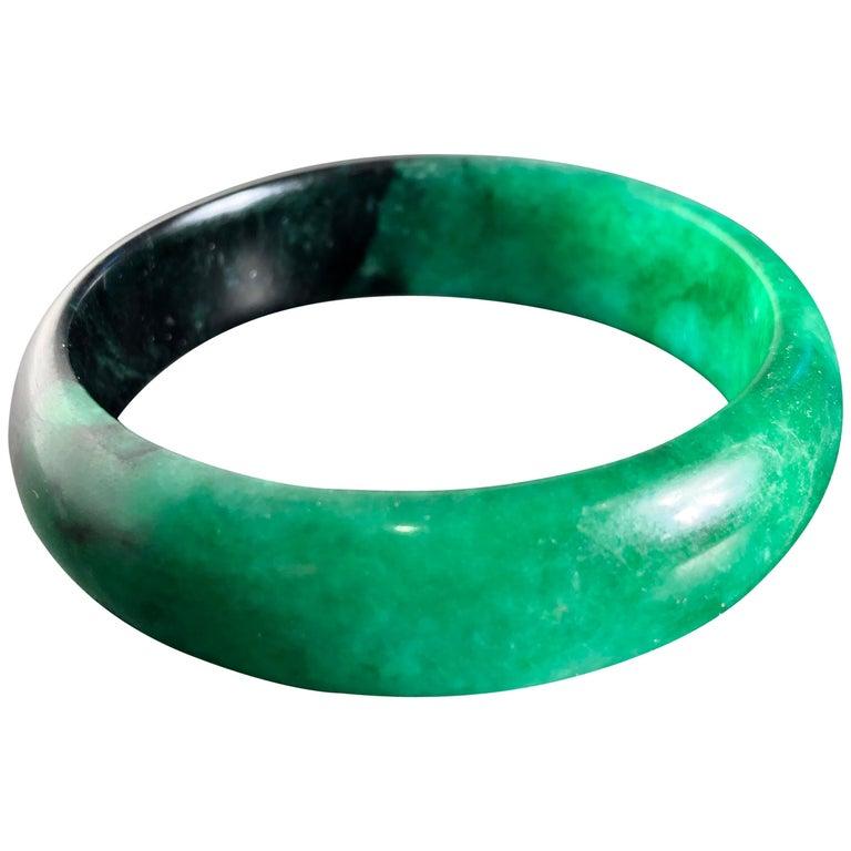 China Fine Antique Jade Bracelet Pendant, Qing Dynasty For Sale
