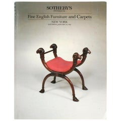Sotheby's Fine English Furniture and Carpets