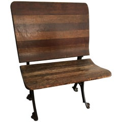 Vintage School House Bench