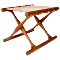 Poul Hundevad Danish Folding Stool PH 43