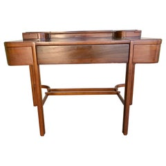 1930s Moderne Wood Desk