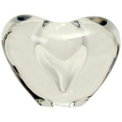 Timo Sarpaneva Heart Vase, Iittala, Signed