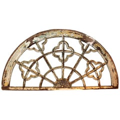 Antique Architectural Arch Transom