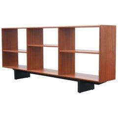 MidCentury Canadian Walnut 881 Free Standing Bookshelf, 1960s