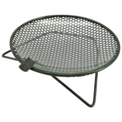 1950s Perforated Metal Atomic Dish Ashtray Nº S30 by Richard Galef Ravenware