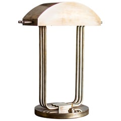 Marcel Breuer Art Deco Desk Lamp, 1925, Paris