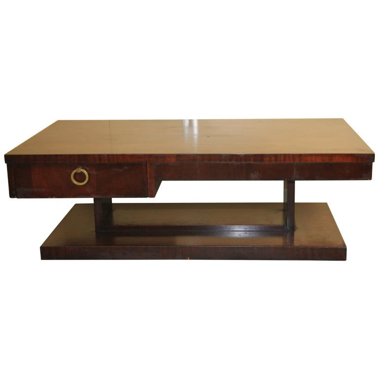 Lane Architectural Coffee Table For Sale