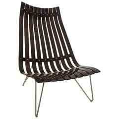 "Hans Brattrud ""Scandia"" Lounge Chair for Hove Mobler, Norway, 1950s"