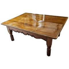 20. Jahrhundert Louis Philippe italienischen niedrigen Tee Tisch Kirschbaum