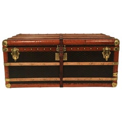 Goyard Steamer Trunk from the Princely House of Thurn and Taxis