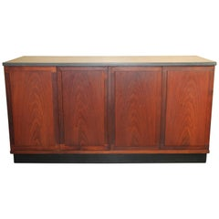Walnut Credenza with Slate Top by Jack Cartwright for Founders Furniture Co.