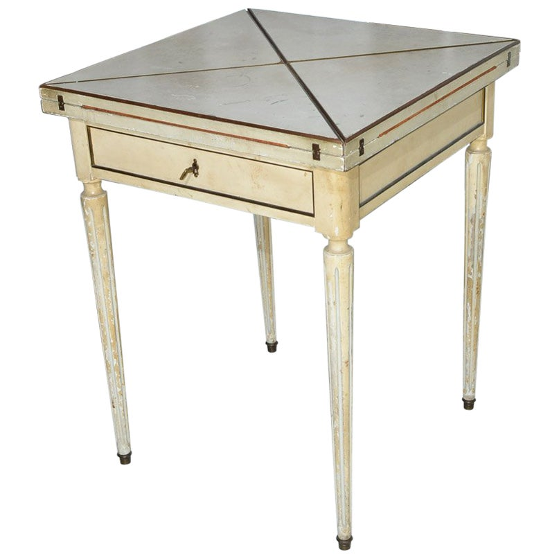 Neoclassical Style Game Table