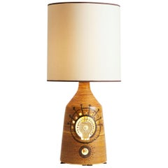 1970s, French Georges Pelletier Table Lamp