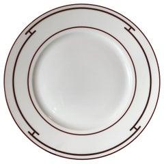 Hermès Rythme Porcelain Charger