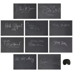 Rare Whats My Line Mystery Guests Autographs Including Steve McQueen