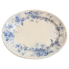 Vintage Oversized Decorative English Platter