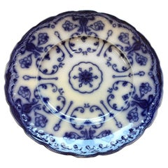 Vintage Blue and White Wharf Pottery Decorative Plate