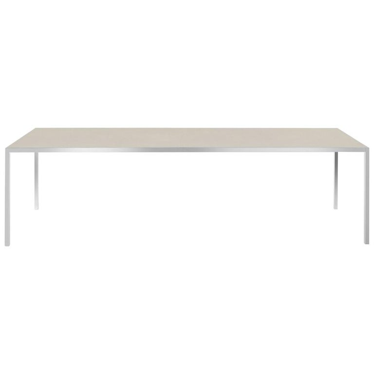 MDF Italia LIM 3.0 Rectangular Dining Table by Bruno Fattorini For Sale