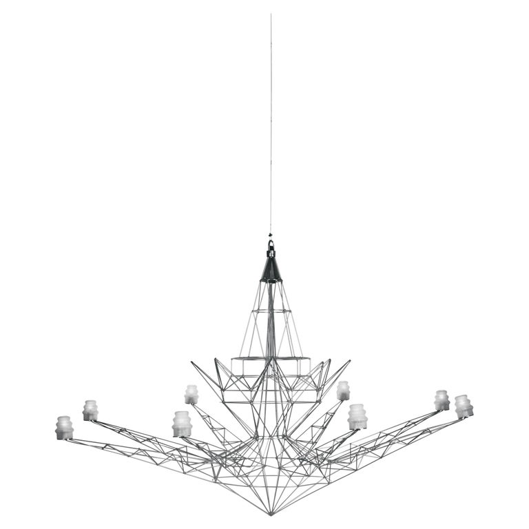 Foscarini Lightweight Suspension Lamp in Anodized by Tom Dixon For Sale